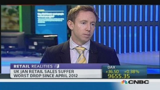 News video: UK retail weakens after Xmas splurge